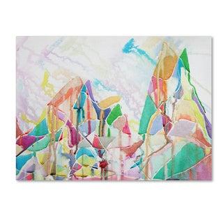 Lauren Moss 'Saramati' Canvas Art