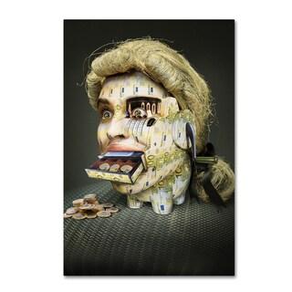 Ddiarte 'The Miser Molier' Canvas Art