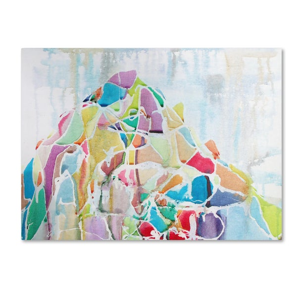 Lauren Moss 'Mount Blackburn' Canvas Art