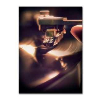 Joe Felzman Photography 'Turntable With Stylist' Canvas Art
