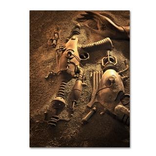 Joe Felzman Photography 'Ray Guns On Mars' Canvas Art
