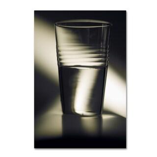 Joe Felzman Photography 'Optimism Half Full Glass' Canvas Art