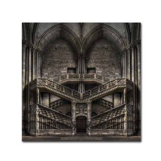 Jacek Stefan 'Tribute To Escher' Canvas Art