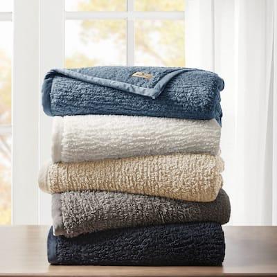 Woolrich Burlington Solid Berber Blanket