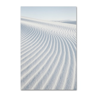 Alan Majchrowicz 'White Sands I no Border' Canvas Art