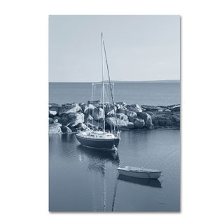 Alan Majchrowicz 'By the Sea II no Border' Canvas Art