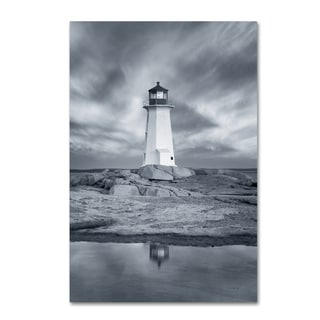 Alan Majchrowicz 'By the Sea I no Border' Canvas Art