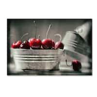 Joe Felzman Photography 'Cherry Boats' Canvas Art