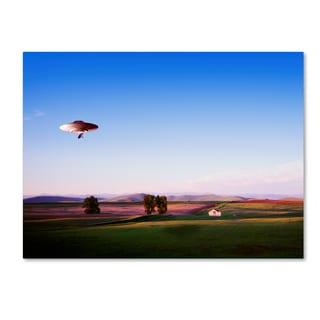 Joe Felzman Photography 'Montana Flying Saucer' Canvas Art