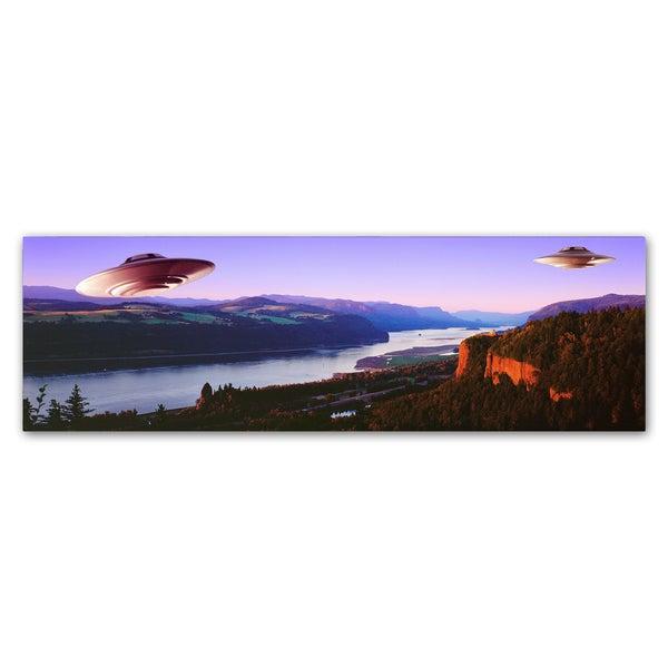 Joe Felzman Photography 'Flying Saucers' Canvas Art