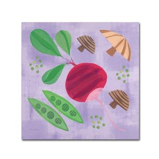 Farida Zaman 'Veggie Time III' Canvas Art