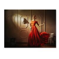 Sergei Smirnov 'Tango' Canvas Art