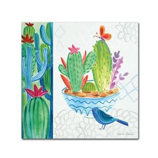 Farida Zaman 'Cacti Garden II' Canvas Art