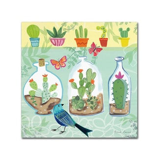 Farida Zaman 'Cacti Garden I' Canvas Art