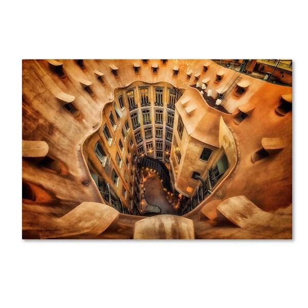 Massimo Cuomo 'Casa Mila La Pedrera Barcelona' Canvas Art