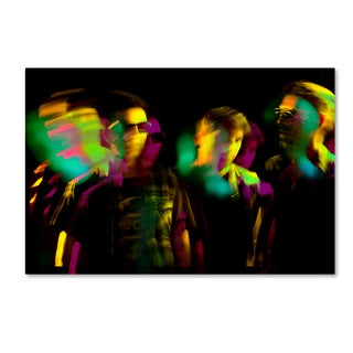 Francisco Ross 'Night Out' Canvas Art