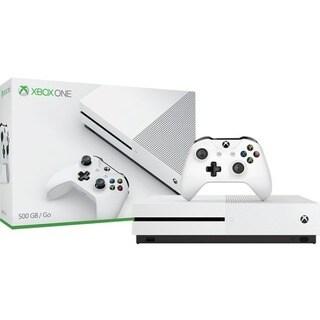 Xbox One S 500GB Console - White