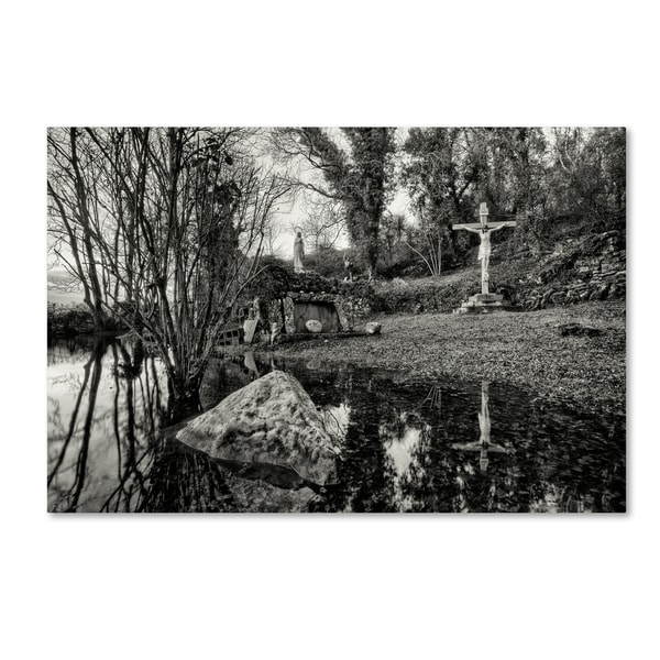 Geoffrey Ansel Agrons 'Flooded Grotto ' Canvas Art