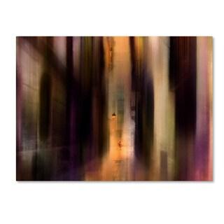 Sol Marrades 'Cityscape' Canvas Art