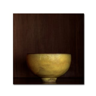 Geoffrey Ansel Agrons 'Tea Bowl' Canvas Art
