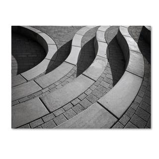 Henk Van Maastricht 'Curves' Canvas Art