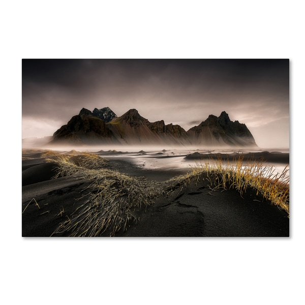 David Martin Castan 'Stokksnes' Canvas Art