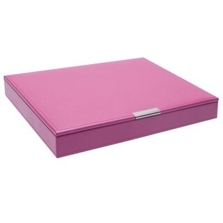 Large Stackable Tray with Lid - ORCHID