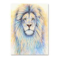 Michelle Faber 'Leo The Lion' Canvas Art