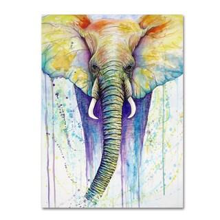 Michelle Faber 'Elephant Colors' Canvas Art