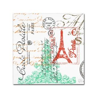 Jean Plout 'Paris 3' Canvas Art