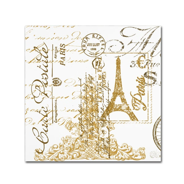 Jean Plout 'Paris 2' Canvas Art