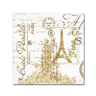 Jean Plout 'Paris 2' Canvas Art