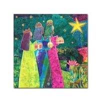 Elizabeth Claire 'Three Wise Men' Canvas Art