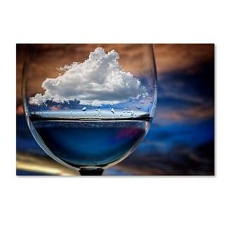 Chechi Peinado 'Cloud In A Glass' Canvas Art