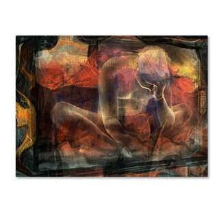 Sol Marrades 'Disquietude' Canvas Art