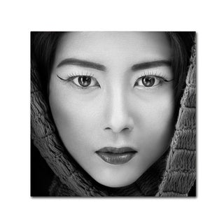 Arief Siswandhono 'Portrait Of Icha' Canvas Art