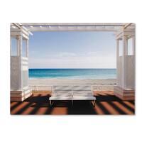 Paco Palazon 'Window To The Sea' Canvas Art