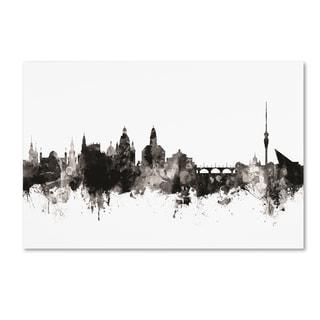 Michael Tompsett 'Dresden Germany Skyline I' Canvas Art