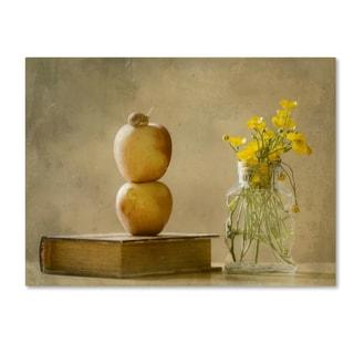 Delphine Devos 'Wild Flowers' Canvas Art