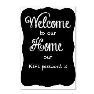 Jean Plout 'Welcome Home 8' Canvas Art