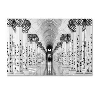 Hans Wolfgang Hawerkamp 'Sheik Zayed Mosque' Canvas Art