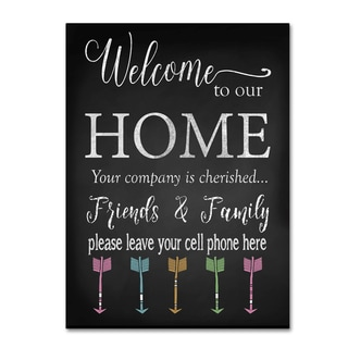 Jean Plout 'Welcome Home 5' Canvas Art