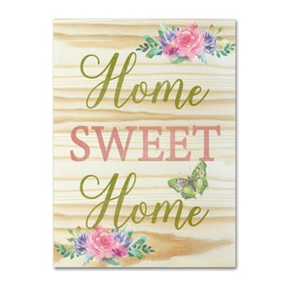 Jean Plout 'Welcome Home 4' Canvas Art