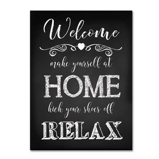 Jean Plout 'Welcome Home 2' Canvas Art