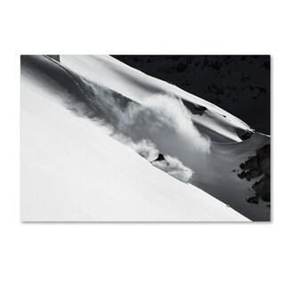 Jakob Sanne 'Cloud Of Snow' Canvas Art