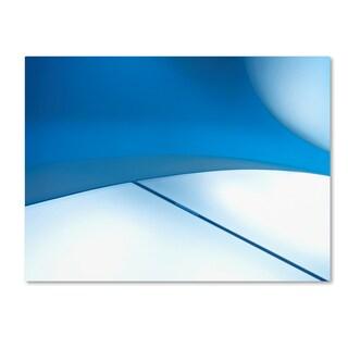 Gerard Jonkman 'The Blue Line' Canvas Art