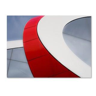 Luc Vangindertael (Lagrange) 'Red Bow' Canvas Art