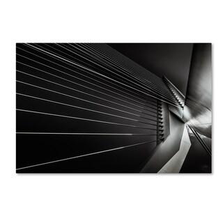 Michael Jurek 'Rotterdam Cable Style' Canvas Art