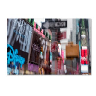 Moises Levy '42st' Canvas Art