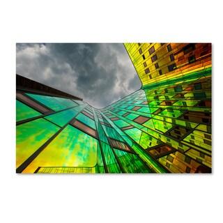 Gerard Jonkman 'The Rainbow' Canvas Art